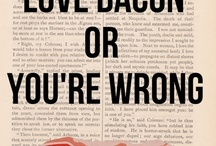 Food-bacon / by Amy Saffer