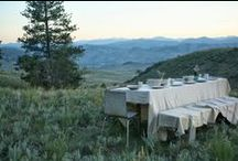 Outdoor dinners