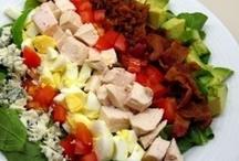 Salads, Dressings & Sauces / by Sandy (Girlyfrog) Eyler