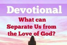 Devotionals / Daily Christian Devotionals