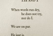 remember these words / Inspiration, literature