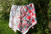 Adaliza's finished quilts / Patchwork quilts that I have made - memory quilts, quilt commissions and quilts for my family.  Contact shop@adaliza.co.uk if you would like me to make a quilt for you, or if you'd like to attend one of my workshops in Winchester, UK