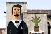 mural y arte de la calle / by Laura Hoffman