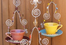 Crafts: Chandeliers/Wind chimes!! / by Gina Strickland
