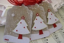 Crafts: Christmas Tags!! / by Gina Strickland