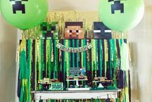 Minecraft party / Mine craft theme party