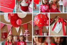 Valentines party / Valentine's Day party ideas