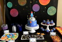 Space party / Space themed party ideas
