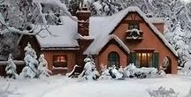 Merry December / What's not to like about this month? Parties & cosy evenings at home, seasonal baking & special meals, old movies & new books, family & friends ......