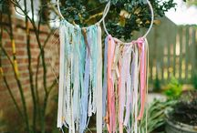 Boho style birthday party ideas