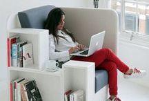 Books - Shelves / Clever and stylish bookshelves