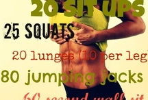 fitness / by Kathleen Foley Boudreaux