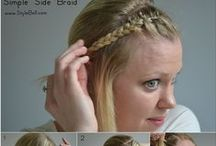 Hair How-To's / Step by step instructions on how to DIY the trendiest hair styles