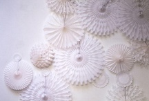 Paper decorations / by Sincerity Bridal