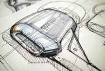 Design Sketches / Inspiring industrial product design sketches