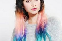 Hair / Cuts and colors I want, hair inspiration, hair I like, hairstyles, haircuts, hair tips, hair tutorials. Bored of your usual hairstyles? Try some of these looks to spice up your image. Fancy buns. Up-dos, up do. / by Laura Staley