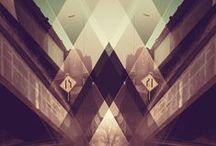 Geometric Graphic Design / My favourite graphic design