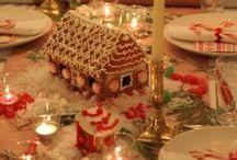 Kuchen Haus / Kuchen Hause ideas aka Gingerbread House ideas.  / by Angie Penner