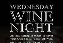 "Wednesday Wine Night / The Manor offers a list of remarkable wines at remarkable prices to give you the opportunity turn your dinner into your own very special and memorable wine dinner.  There are also no corkage fees on Wednesdays in The Terrace Lounge so you can also ""Bring Your Own Bottle.""  Only on Wednesday and only in The Terrace Lounge!"