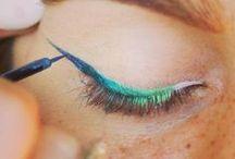 Beauty / Cosmetics, nails, lips, hair, makeup, lipstick, eye shadow, mascara, nail polish, eye liner, etc. Facial. pedicure, manicure. DIY make-up. Natural Beauty. / by Laura Staley