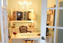 Home Office / Ideas for the home office in the new home.  / by Angie Penner