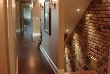 Rec Room / Basement / Ideas for the rec room and basement of the new home.  / by Angie Penner