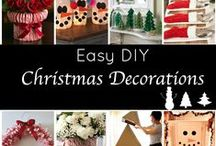 Winter (Crafts & Decor) / <gift ideas, crafts, decor, etc.>