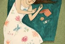 Illustrators - Lizzy Stewart / She's amazing. I wish my life could be drawn like this