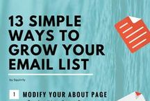 Grow Your Email List - Tips and Tricks / Resources about: List building tips // Opt-in email marketing // How to increase subscribers to your website  ***** Join to the List of this Exclusive Community and you'll get access to our methods that will help you to drive traffic & sales to your blog https://www.squirrly.co/community