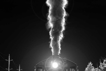 Trains (Don't know why, but I love pictures of trains) / by Wanda Raines