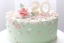 Kaker / Kaker til inspirasjon til kaker jeg vil lage ❤️ Cakes to inspire me for my future cakes