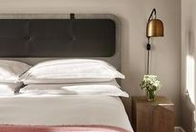 Dreamy Bedrooms / Have your own little sleep-in in these beautiful, dreamy beds. The cozy-factor is one you'll be dreaming the minute you get up.