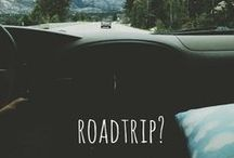 r o a d • t r i p / places to go / by Allison Dodson