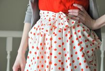 tela, inspiración - fabric inspiration / Cosas bonitas en las que inspirarnos para coser!!