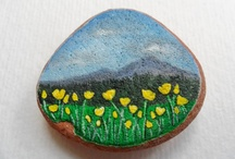 Art magnets / For your fridge, noticeboard or anywhere :)