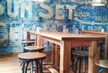 Dining Out / Restaurant Branding/Interior Inspiration
