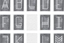 Lettering! / Fonts