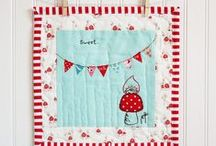 Whimsical Quilting & Crafting / Quilting, sewing, knitting and other craft ideas that are fun for grown-ups and kids alike.
