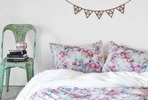 Fabulous Floral Patterns / Delicate ditsy patterns, soft pastel blooms and bright colourful prints - all things floral for the home.