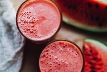 Amazing Smoothies / Beautiful + delicious smoothies from around the web. So many great options for summer!