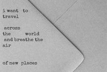{travel plans}