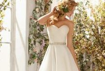 Flowy Organza / Bridal style gets a rich, layered look in these organza wedding dresses. / by Mori Lee by Madeline Gardner