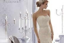 Lovely Lace / The classic lace wedding gown gets an update in these Mori Lee originals.  / by Mori Lee by Madeline Gardner