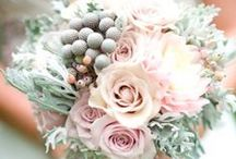 Bridal Florals / From bridal bouquets to centerpieces, flowers are a perfect way to tie your entire look together.