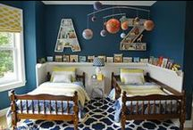 big kid crib // kiddo rooms. / My kids will have the most fun rooms ever !!