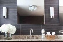 big kid crib // bath. / Fun showers, baths, textiles and sinks. Always elegant in structure, but creative in the details!