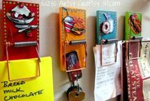 Recycled Crafts / Recycled craft ideas / by Suzys Sitcom