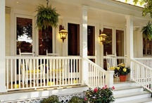~Porches~ / Porches, Patio's and Sunroom's / by Laurie Davis