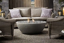~Outdoor rooms~ / by Laurie Davis