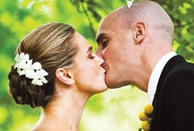 "Wedding Kiss Kiss / It is a Western custom for a newly married couple to exchange a kiss at the conclusion of their wedding ceremony. Some Christians hold the belief that the kiss symbolizes the exchange of souls between the bride and the groom, fulfilling the scripture that ""the two shall become one flesh."""